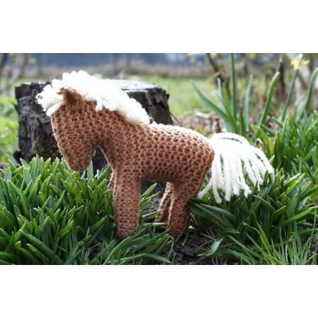 Horse knitting set